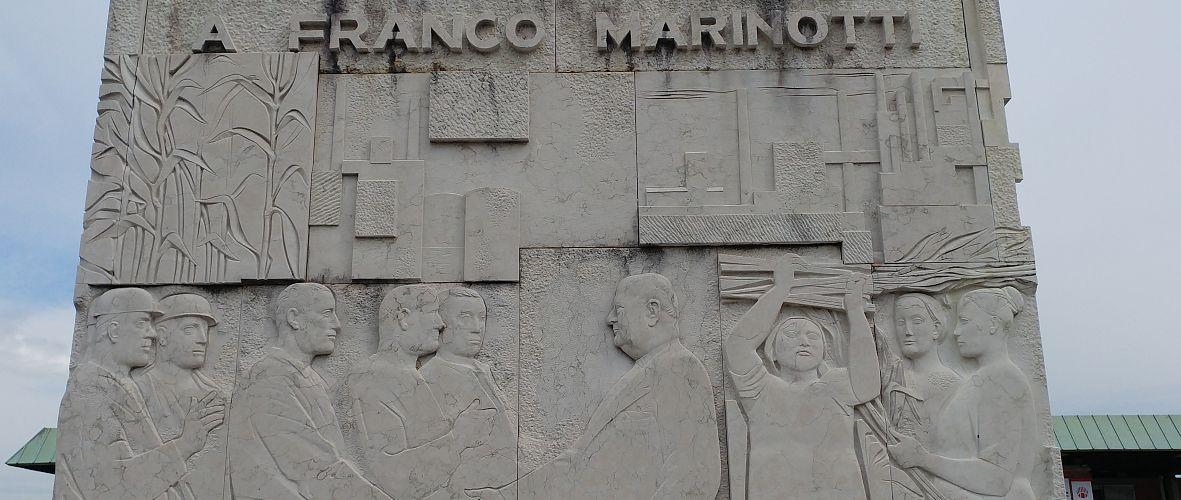 Torviscosa monumento a Franco Marinotti